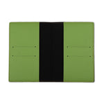 Light Green Textured Passport Cover - The Junket