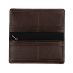Dark Brown Womens Wallet - The Junket