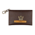 Dark Brown Coin Pouch
