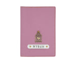 Light Purple Textured Passport Cover - The Junket