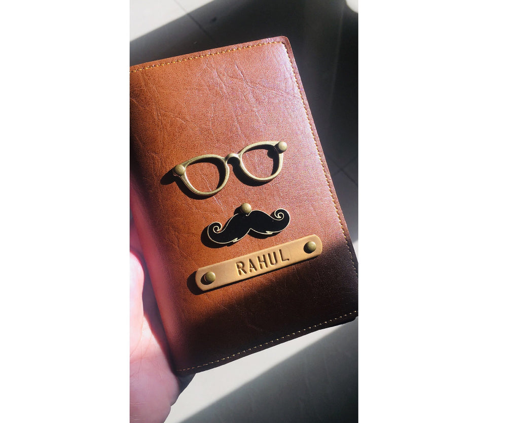 Moustache Passport Cover - The Junket