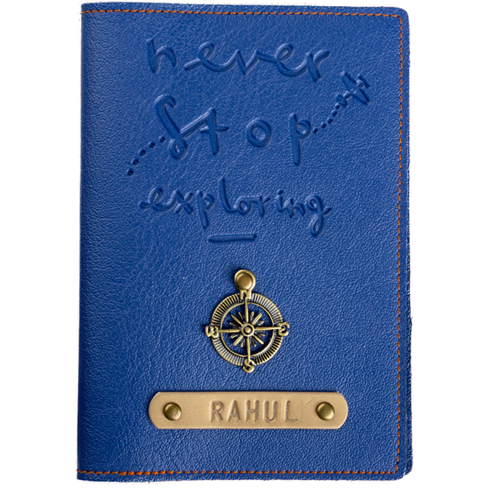 Never Stop Exploring - Passport Cover