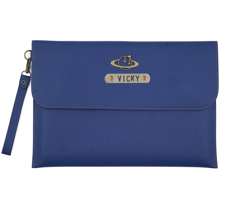 Blue Laptop Sleeve - The Junket