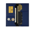Navy Blue Travel Folder - The Junket