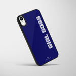 Personalized Glass Mobile Cover - Bold