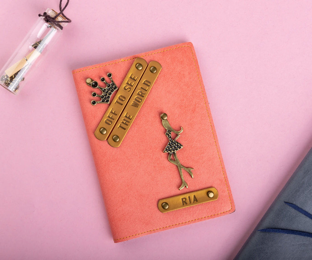 Off to See The World (HER) - Passport Cover - The Junket