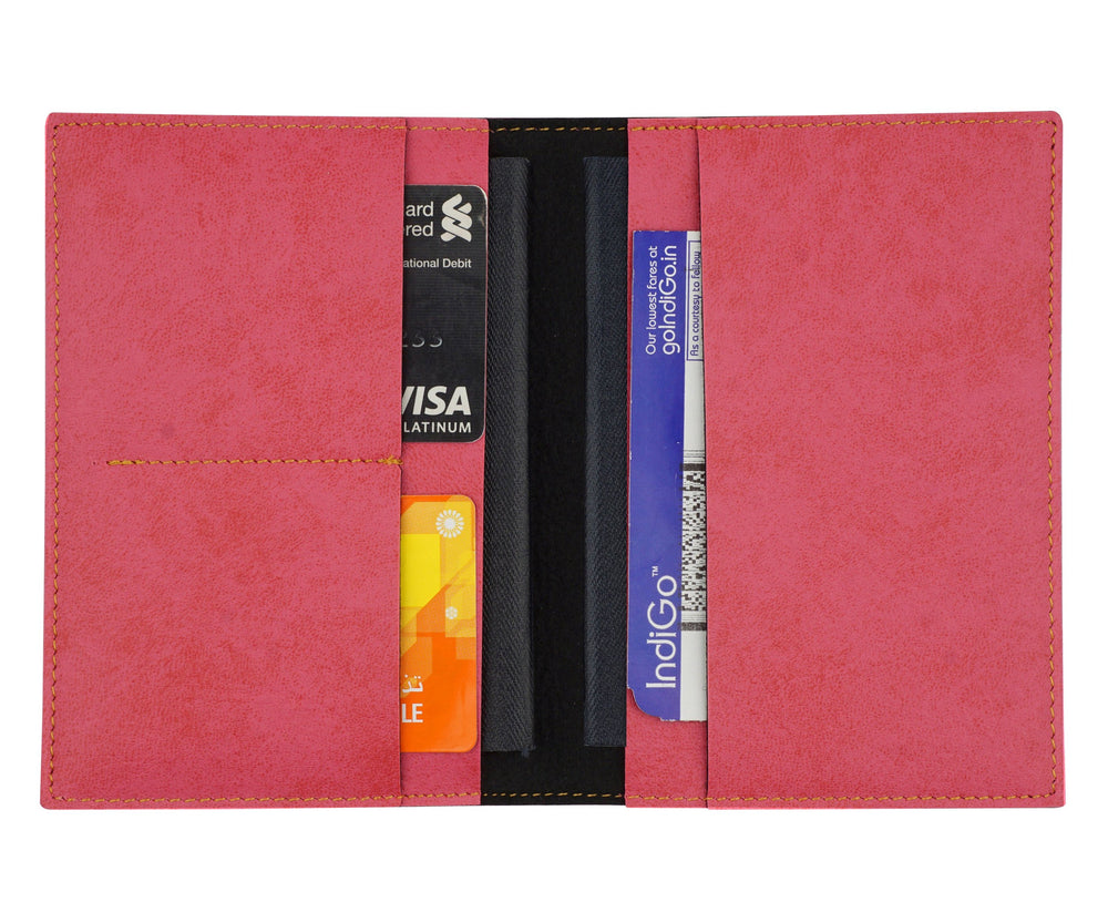Pink Frequent Flyer Passport Cover - The Junket