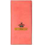 Peach Travel Folder