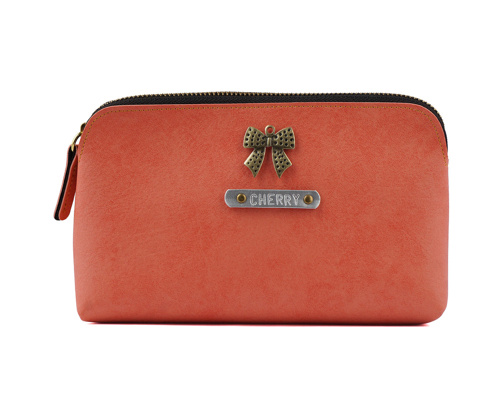 Peach Travel Pouch