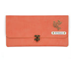 Peach Clutch Bag