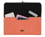 Peach Clutch Bag - The Junket