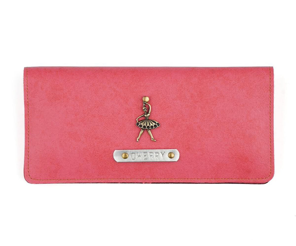 Pink Womens Wallet - The Junket