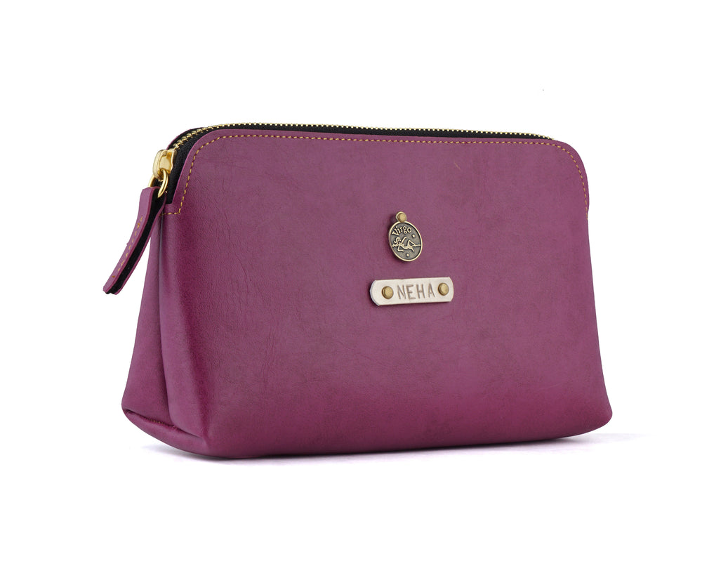 Purple Travel Pouch - The Junket
