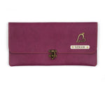 Purple Clutch Bag