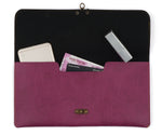 Purple Clutch Bag - The Junket