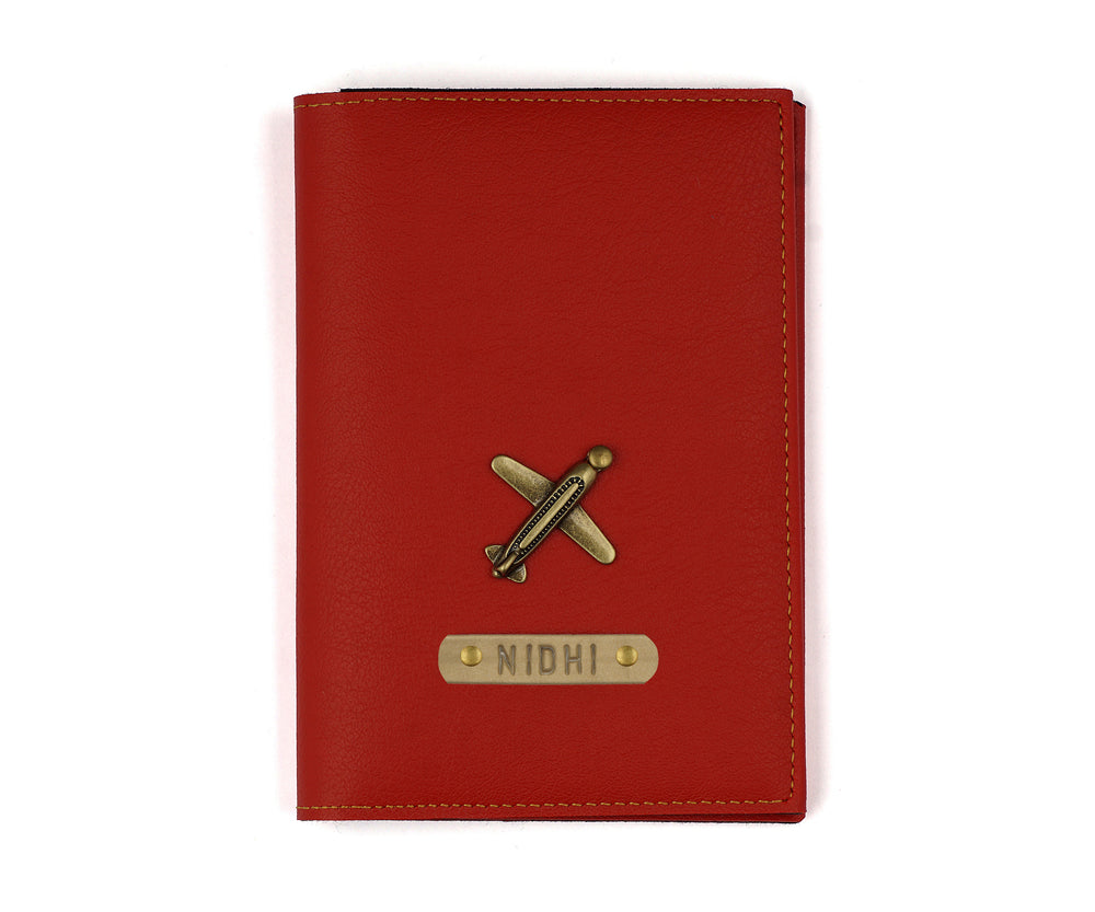 Red Frequent Flyer Passport Cover - The Junket