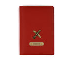 Red Frequent Flyer Passport Cover