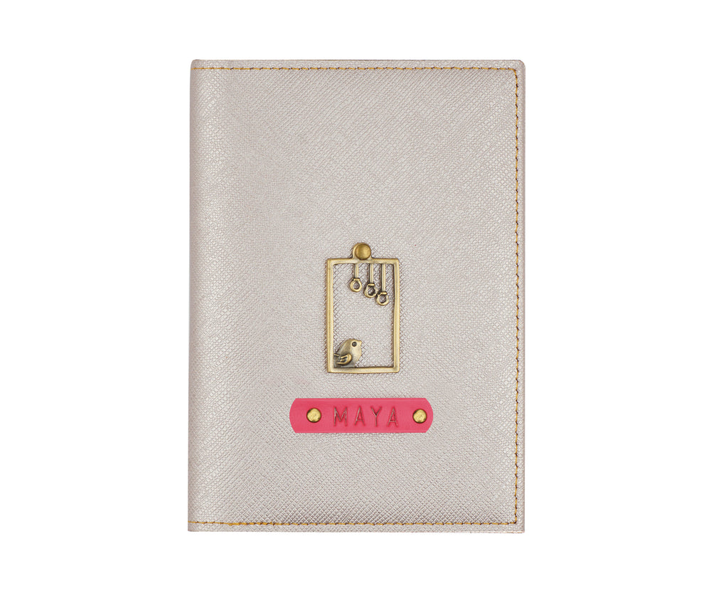 Rose Gold Frequent Flyer Passport Cover