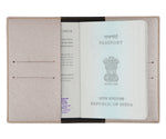 Rose Gold Textured Passport Cover - The Junket