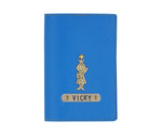 Royal Blue Textured Passport Cover