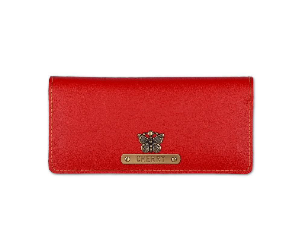 Red Womens Wallet