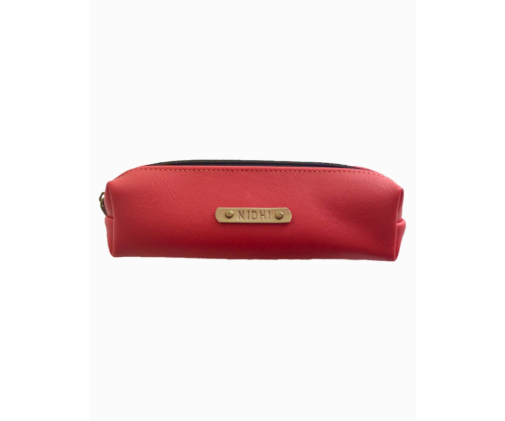 Red Pencil Pouch - The Junket