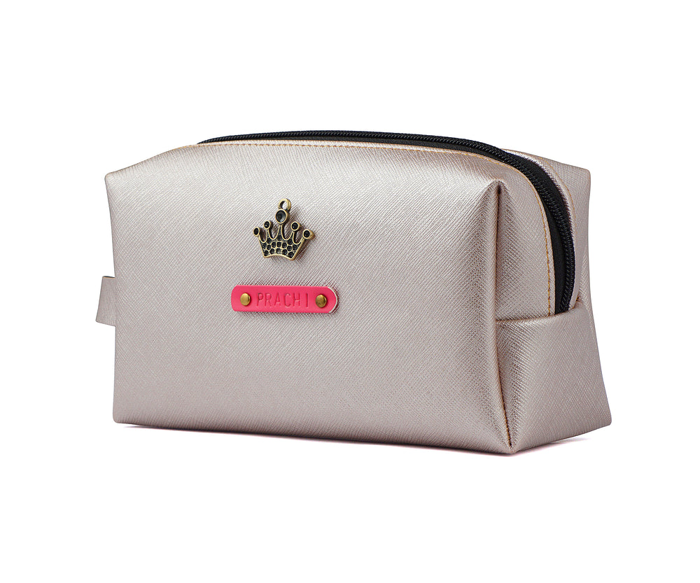 Rose Gold Accessories Pouch - The Junket