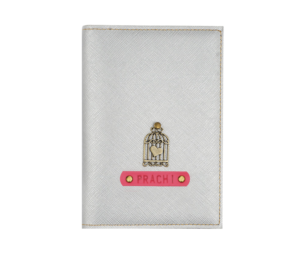Silver Frequent Flyer Passport Cover