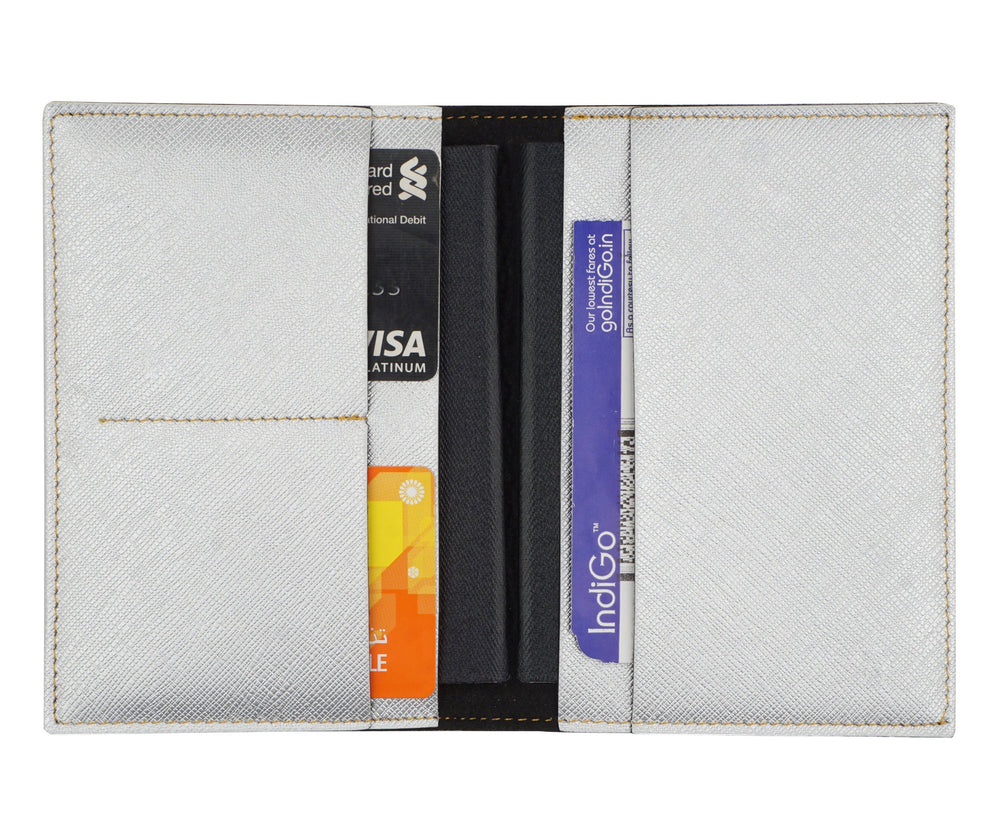 Silver Frequent Flyer Passport Cover - The Junket