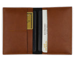 Tan Frequent Flyer Passport Cover - The Junket