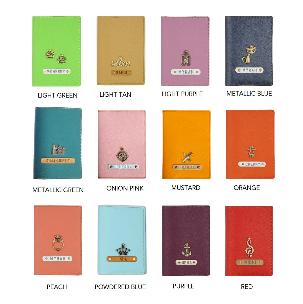 Family Set Passport Covers (Set of 4)