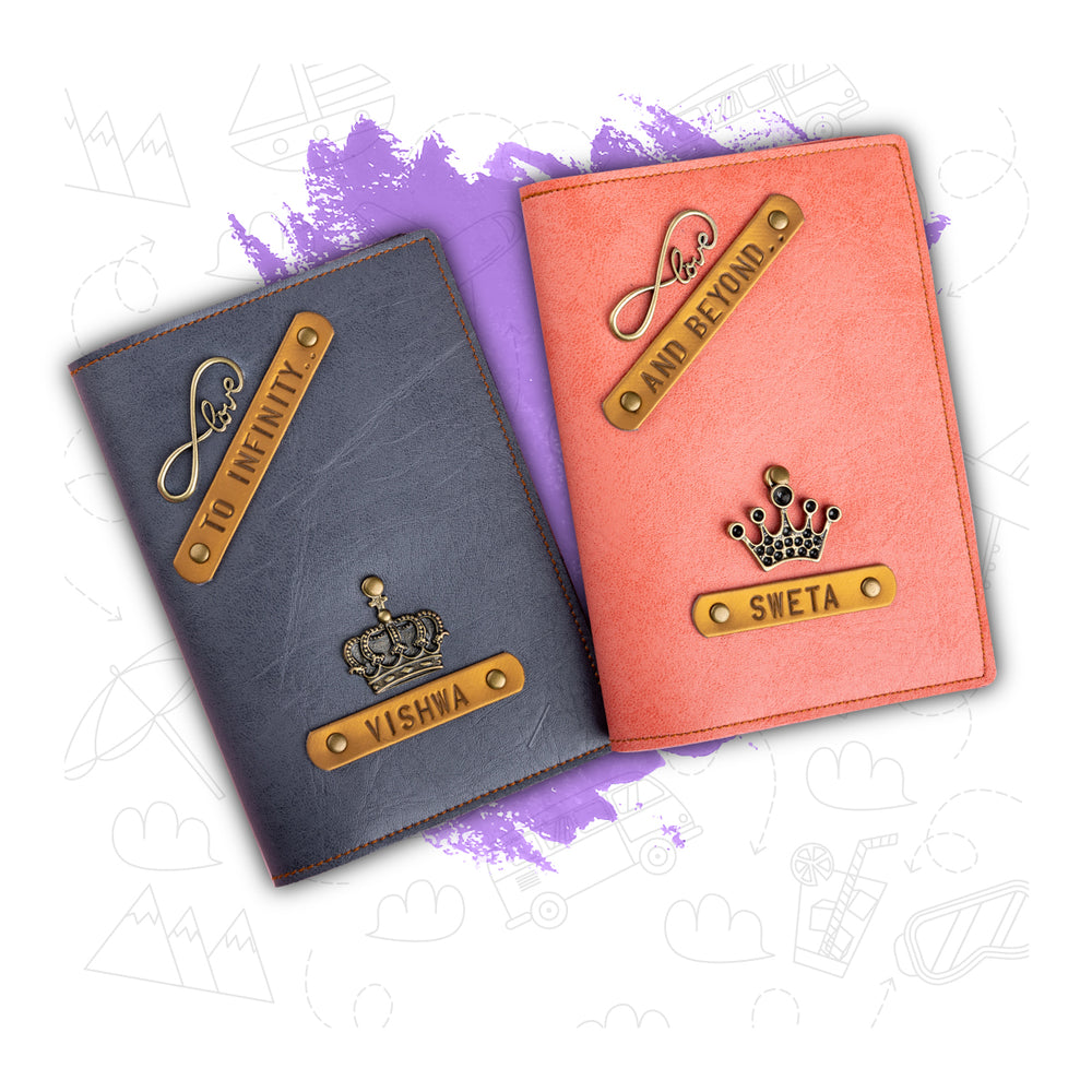 To Infinity & Beyond - Couple Passport Cover