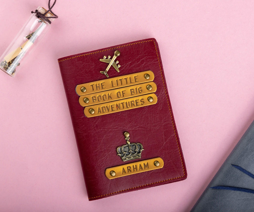 The Little Books of Big Adventures (HIM) - Passport Cover - The Junket