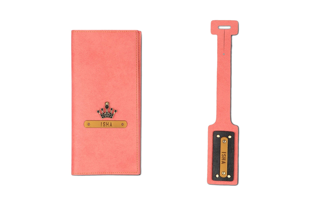 Travel Folder n Luggage Tag Combo - The Junket