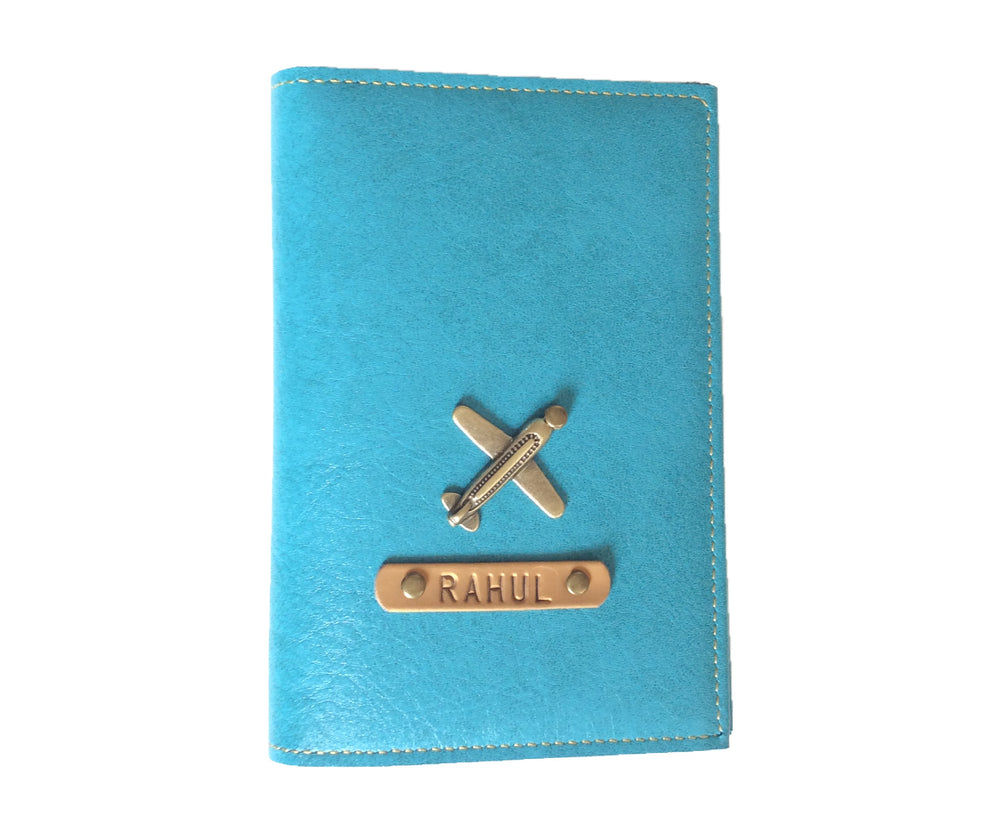 Turquoise Frequent Flyer Passport Cover