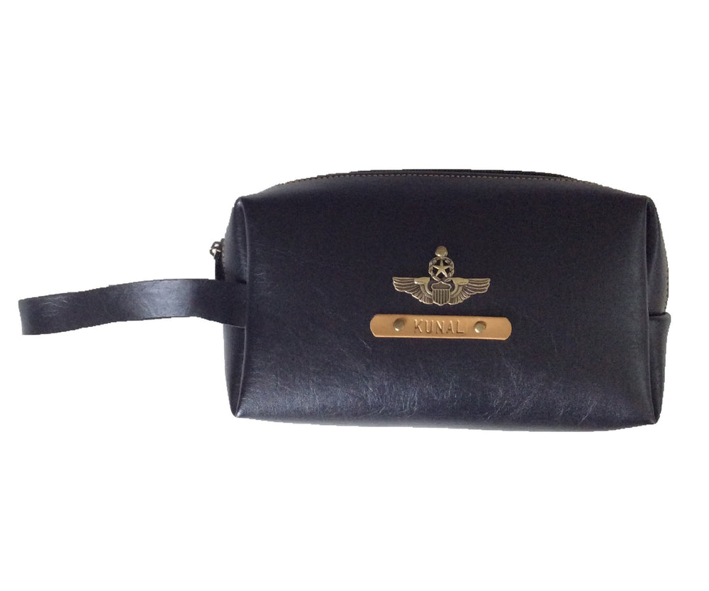 Black Accessories Pouch