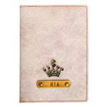 Cookie n Cream Leather Finish Passport Cover