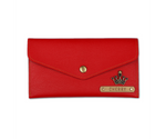Red Button Purse