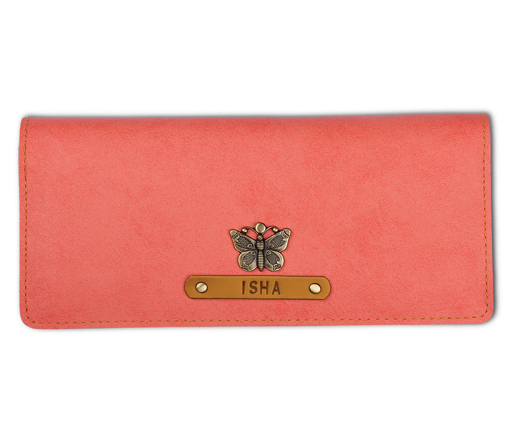 Peach Womens Wallet - The Junket