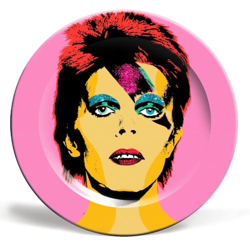 Art Wow Plate David Bowie
