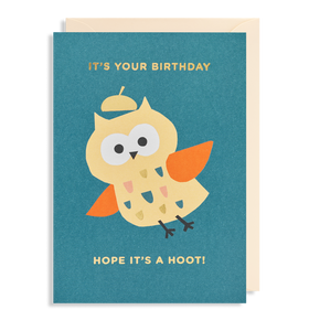 It's Your Birthday. Hope It's A Hoot!