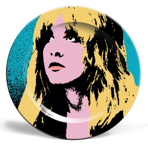 Art Wow Plate Stevie Nicks