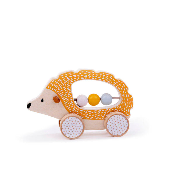 100% FSC® Certified Push Along Hedgehog