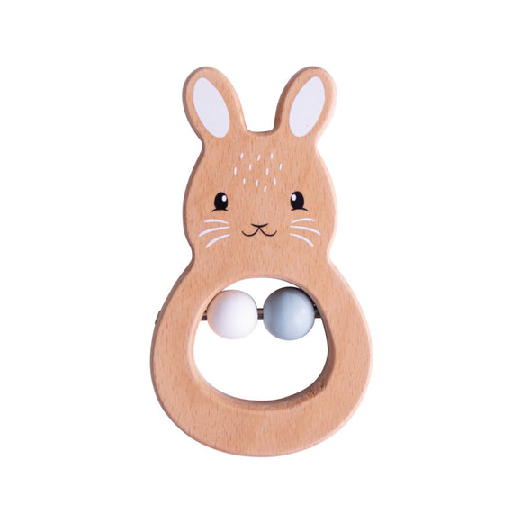 100% FSC® Certified Rabbit Rattle
