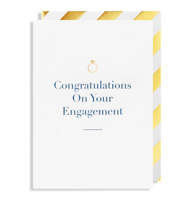 Congratulations On Your Engagement Card 6117