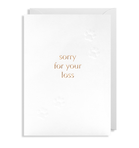 Sorry for your loss (pet) 6301