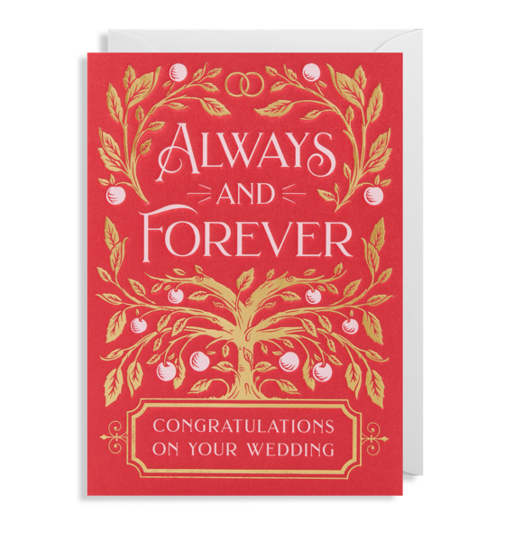 Always and Forever - Congratulations on Your Wedding 6331