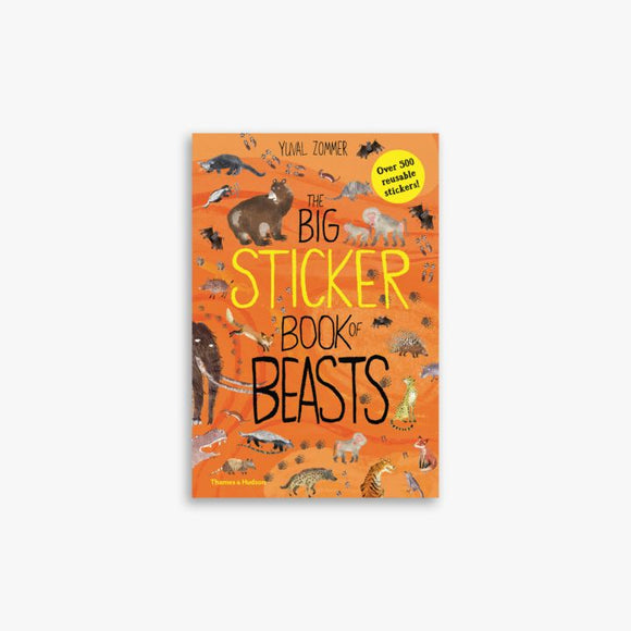 Big Sticker Book Of Beasts