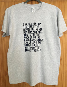 Rappers Delight T Shirt