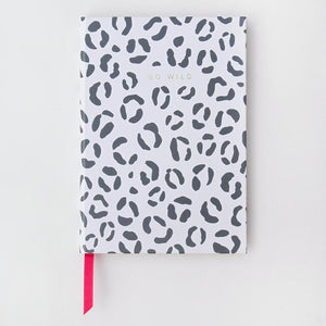 Large Leopard Hardback Notebook
